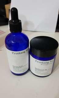 Pyunkang Yul serum and cream