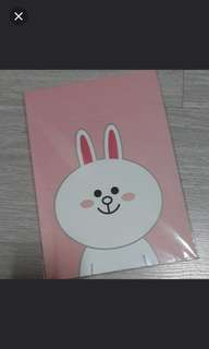 Line Friends Cony And Sally Notebook