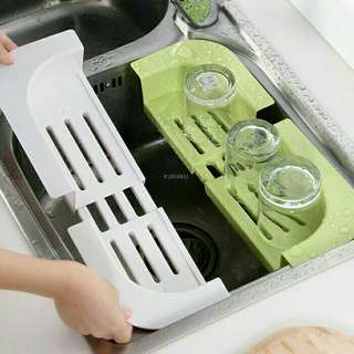 Adjustable sink racks