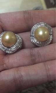 South sea pearls earring