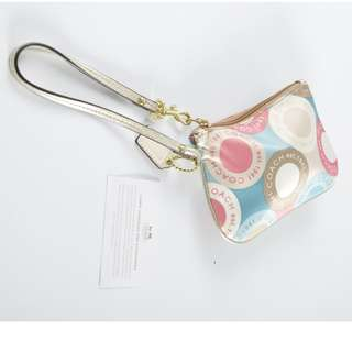 AUTHENTIC COACH WRISTLET / POUCH
