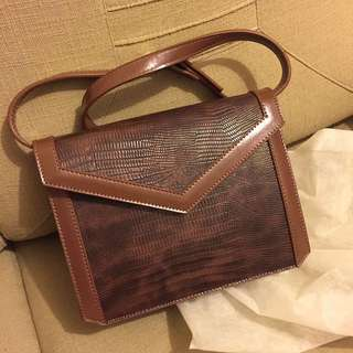 Vintage brown color bag