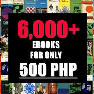 6000+ EBOOKS FOR 500!!!