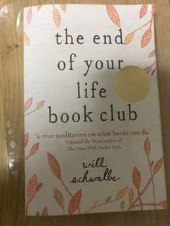 Will Schwaller The End of Your Life Book Club