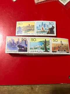 中國郵票1994-20