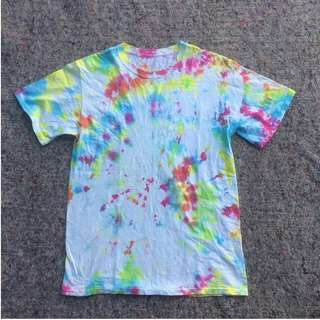 FRUIT OF THE LOOM TIE DYE TEES