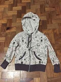 Gingersnaps Printed Hoodie Jacket