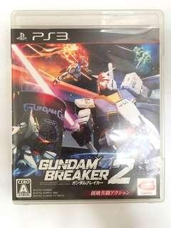 PS 3 Game Gundam Breaker 2 日文版