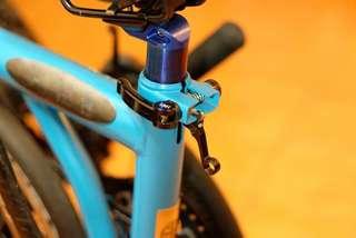 H&H seatpost clamp set for Brompton