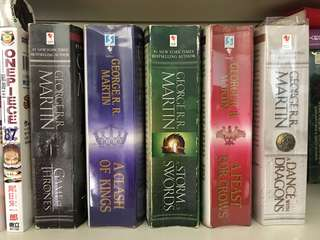 Game of thrones (all 5 books)
