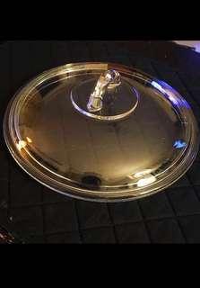 9吋透明玻璃煲蓋