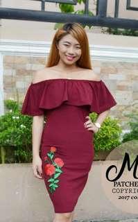 Off shoulder Dresss