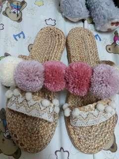 自家製毛毛拖鞋