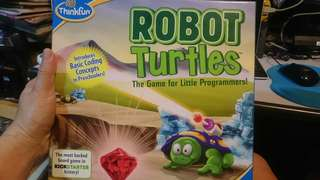 Robot Turtles board game for kids to learn programming
