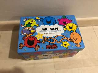 Brand New- Mr MEN my complete collection box set of 4