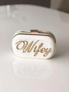 Brand new Wifey clutch