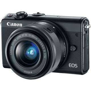 Canon EOS M100 Kit 15-45mm Mirrorless Kredit Kamera