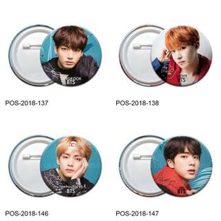 Pin Button Badge - KPOP BTS (Ø58mm)