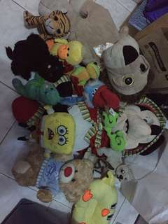 Take All Assorted Stuffed Toys
