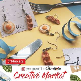 Klay.sg at Carousell Creative Market @ The Centrepoint!