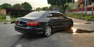 Mercedes Benz E250 AMG SAMBUNG BAYAR /  CAR CONTINUE LOAN