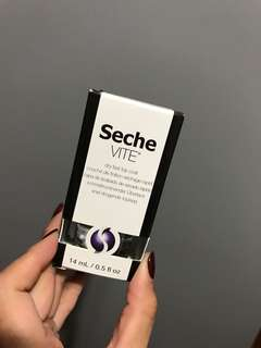 SECHE VITE TOPCOAT BRAND NEW IN BOX