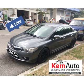Sporty & Reliable HONDA CIVIC 1.8A facelift with 4 pot BBK & rota rims