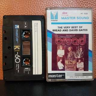 Cassette》The Very Best Of Bread & David Gates