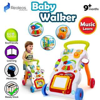 Baby toddler sit to stand Learning Walker
