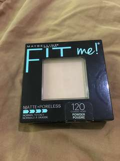 maybelline fit me matte&poreless pressed powder