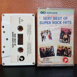 Cassette》Very BestcIf Super Rock Hits