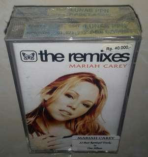 Kaset / Cassette MARIAH CAREY - Remixes