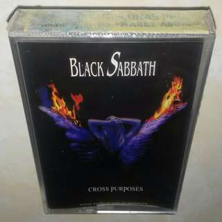 Kaset BLACK SABBATH - Cross Purposes
