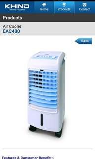KHIND Evaporative Air Cooler EAC400