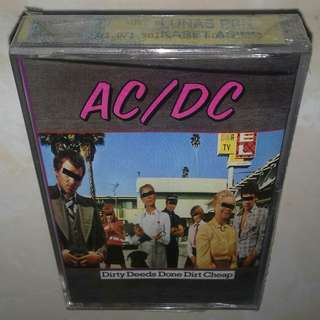 Kaset / Cassette ACDC - Ac Dc