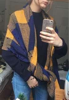 Long warm scarf