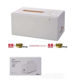 Japan Quality - Tempat Tissue Box with Toothpick-holder