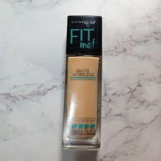 🚚 Maybelline fit me!反孔特霧粉底液