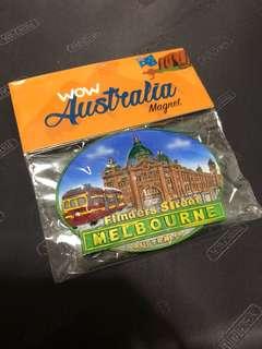 Hot Selling Australian Made 🇦🇺Instock Melbourne Flinders Street Fridge Magnet
