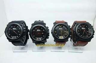 Jam tangan pria Quicksilver kulit