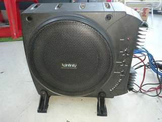 Infinity sub woofer with amp