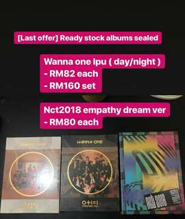 [LAST OFFER] : WANNA ONE IPU & NCT 2018