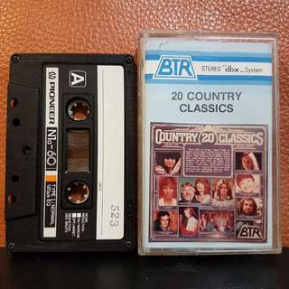 Cassette》20 Country Classics