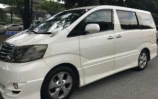 Toyota Alphard SG