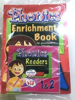 Phonics enrichment books and cd