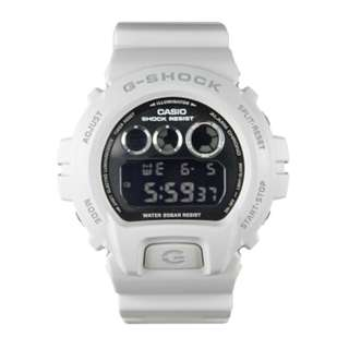 only hk$459, 100% new Casio Men's G-Shock DW6900NB-7 Black Resin Quartz Watch手錶