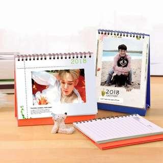 Customise calendar / notebook / memo