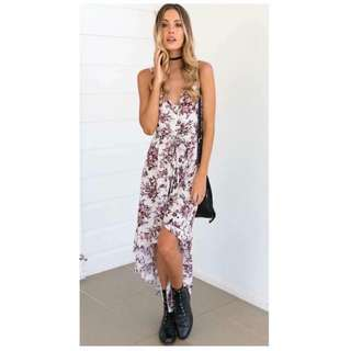 ⚡HI-LOW FLORAL DRESS⚡