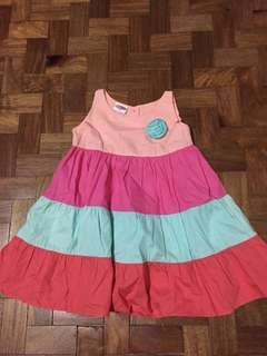 Little Miss Colorful Dress