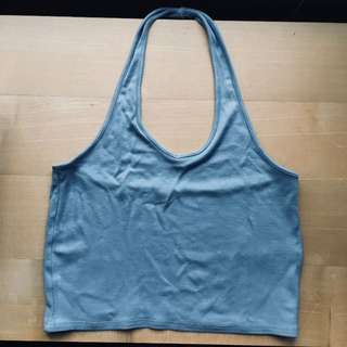 Garage halter top